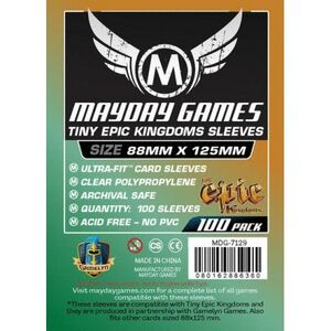 88MM X 125 MM MAYDAY SLEEVES
