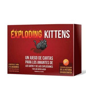 EXPLODING KITTENS JUEGOS DE MESA PARTY GAMES