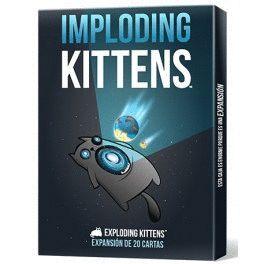 EXPLODING KITTENS: IMPLODING KITTENS JUEGOS DE CARTAS PARTY