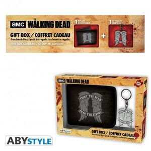 THE WALKING DEAD - PCK WALLET + KEYRING