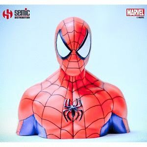 AMAZING SPIDER-MAN MARVEL DELUXE PVC BUST BANK -