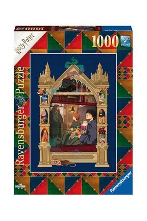 HARRY POTTER PUZZLES ON THE WAY TO HOGWARTS (1000 PIEZAS)