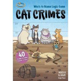 JUEGO DE LOGICA CAT CRIMES JUEGOS DE MESA EDUCATIVOS