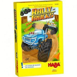 HABA - RALLY TRUCKS JUEGOS DE MESA INFANTILES