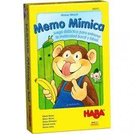 HABA - MEMO MIMICA JUEGOS DE MESA INFANTILES