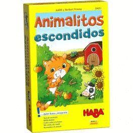 HABA - ANIMALITOS ESCONDIDOS JUEGOS DE MESA INFANTILES