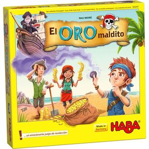 HABA - EL ORO MALDITO JUEGOS DE MESA INFANTILES
