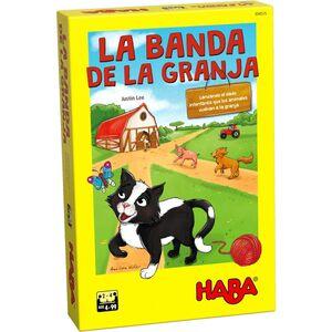 HABA - LA BANDA DE LA GRANJA JUEGOS DE MESA INFANTILES