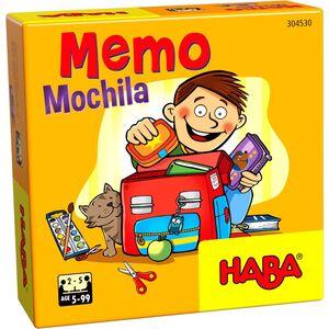 HABA - MEMO MOCHILA JUEGOS DE MESA INFANTILES