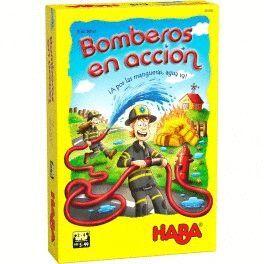 HABA - BOMBEROS EN ACCION JUEGOS DE MESA INFANTILES