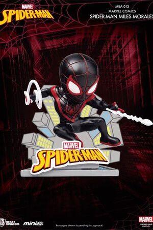 MARVEL COMICS FIGURAS MINI EGG ATTACK SPIDER-MAN MILES MORALES 8 CM