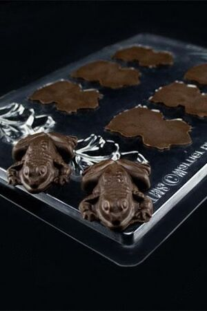 HARRY POTTER MOLDE DE CHOCOLATES RANAS DE CHOCOLATE
