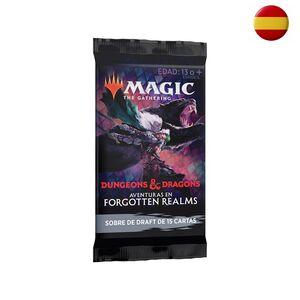 SOBRE MAGIC THE GATHERING DRAFT - AVENTURAS EN FORGOTTEN REALMS ESPAÑOL