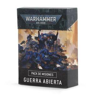 CARTAS DE GUERRA ABIERTA WARHAMMER 40.000
