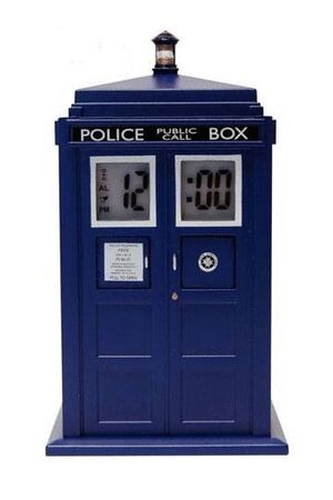 DOCTOR WHO DESPERTADOR PROYECTOR TARDIS