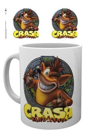 CRASH BANDICOOT TAZA CRASH
