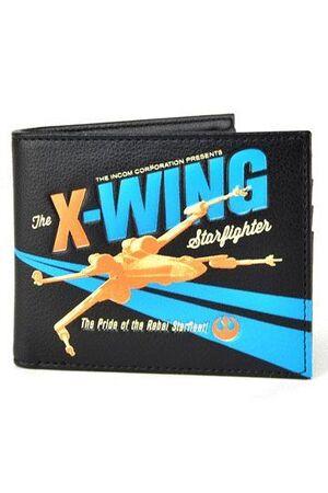 STAR WARS MONEDERO BIFOLD X-WING