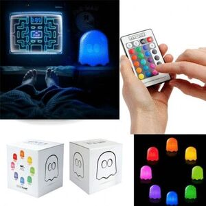 PAC-MAN - GHOST MULTICOLOR LAMP WITH REMOTE CONTROL