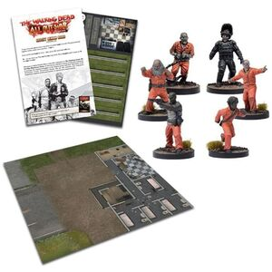 THE WALKING DEAD: ALL OUT WAR - EXPANSION SEGURIDAD TRAS LOS BARROTES