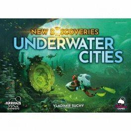 UNDERWATER CITIES: NEW DISCOVERIES JUEGOS DE MESA CIENCIA FICCIÓN