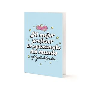 AL MEJOR PROFESOR DE AUTOESCUELA DEL MUNDO