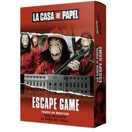 LA CASA DE PAPEL ESCAPE GAME JUEGOS DE MESA TV/SERIES/CINE