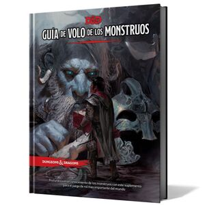 DUNGEONS AND DRAGONS: GUIA DE VOLO DE LOS MONSTRUOS JUEGOS DE ROL FANTASIA