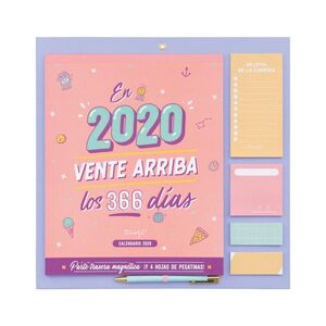 CALENDARIO DE PARED 2020 - EN 2020, VENTE ARRIBA LOS 366 DÍAS