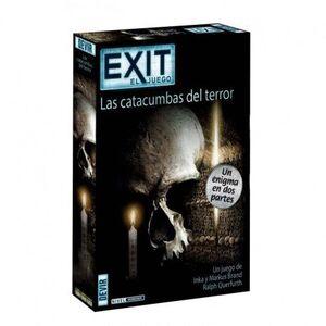 EXIT - LAS CATACUMBAS DEL TERROR (AVENTURA DOBLE) JUEGOS DE MESA COOPERATIVOS