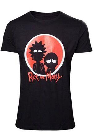 RICK & MORTY T-SHIRT BIG RED LOGO TALLA M