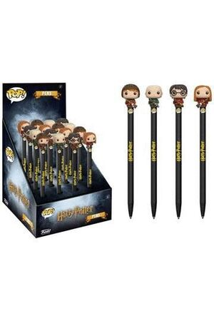 HARRY POTTER POP! HOMEWARES PENS WITH TOPPERS DISPLAY CLASSIC