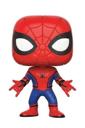 SPIDER-MAN DE REGRESO A CASA POP! MARVEL VINYL FIGURA SPIDER-MAN 9 CM