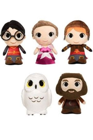 HARRY POTTER PELUCHES SUPER CUTE PLUSHIES 18 CM EXPOSITOR WAVE 2 (HERMIONE)