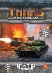 TANKS: THE MODERN AGE - M1 VS T-64 STARTER SET