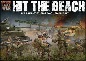 HIT THE BEACH JUEGOS DE MINIATURAS FLAMES OF WAR