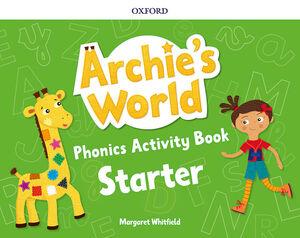 ARCHIE'S WORLD STARTER. PHONICS READERS PACK