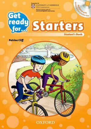 GET READY FOR STARTERS. STUDENT'S BOOK + CD PACK