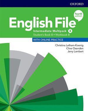 ENGLISH FILE 4TH EDITION INTERMEDIATE. MULTIPACK B