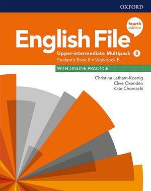 ENGLISH FILE 4TH EDITION UPPER-INTERMEDIATE. STUDENT'S BOOK MULTIPACK B