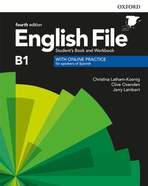 ENGLISH FILE 4TH EDITION B1. STUDENT'S BOOK AND WORKBOOK WITH KEY PACK