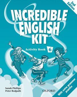 INCREDIBLE ENGLISH KIT 2ND EDITION 6. ACTIVITY BOOK
