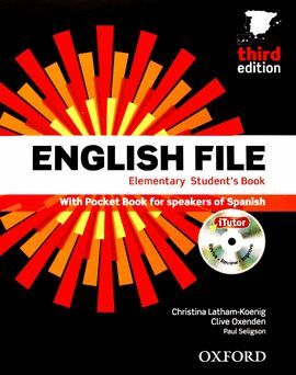 ENGLISH FILE 3RD EDITION ELEMENTARY. STUDENT'S BOOK, ITUTOR AND POCKET BOOK PACK