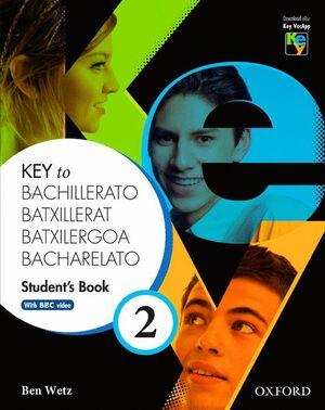 KEY TO BACHILLERATO 2. STUDENT'S BOOK