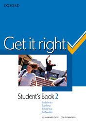 GET IT RIGHT 2. STUDENT'S BOOK + ORAL SKILLS COMPANION