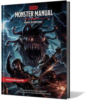 DUNGEONS AND DRAGONS: MONSTER MANUAL - MANUAL DE MONSTRUOS EDICION ESPAÑOLA