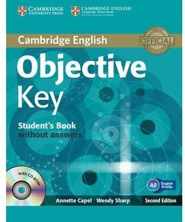 OBJECTIVE KEY STUDENT'S BOOK WITHOUT ANSWERS WITH CD-ROM 2ND EDITION