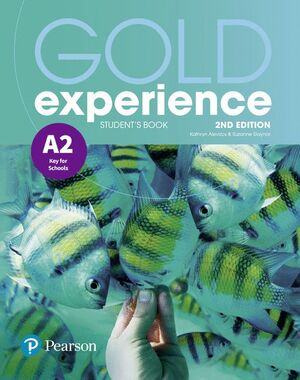 GOLD EXPERIENCE 2ND EDITION A2 STUDENT'S BOOK