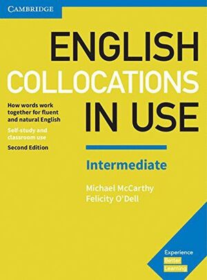 ENGLISH COLLOCATIONS IN USE INTERMEDIATE BOOK WITH ANSWERS 2ND EDITION