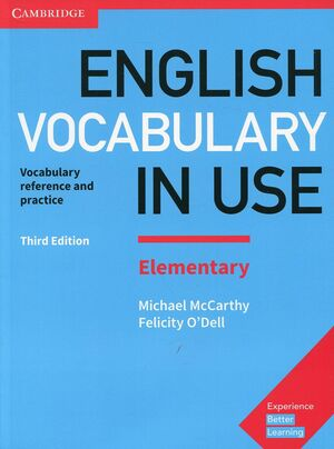 ENGLISH VOCABULARY IN USE ELEMENTARY BOOK WITH ANSWERS 3RD EDITION