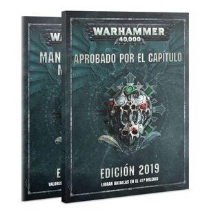 APROBADO POR EL CAPITULO WARHAMMER 40000 JUEGOS DE MINIATURAS